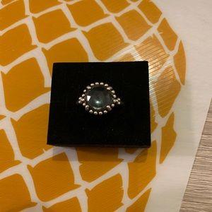 New Pandora Retired Midnight Shining Star Ring